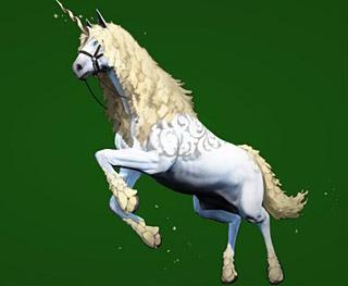黒い砂漠第9世代馬ユニコーン