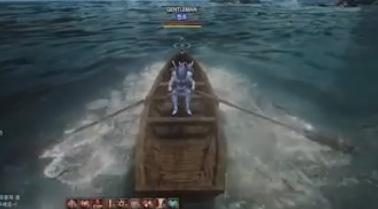 黒い砂漠渡し船