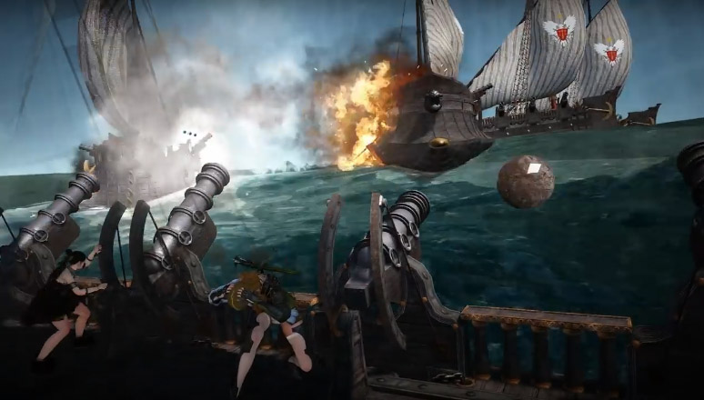黒い砂漠-海上戦