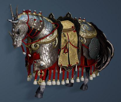 龍鱗馬具セット